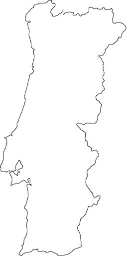mapa mudo de portugal Mapa de Portugal para colorir mapa mudo de portugal