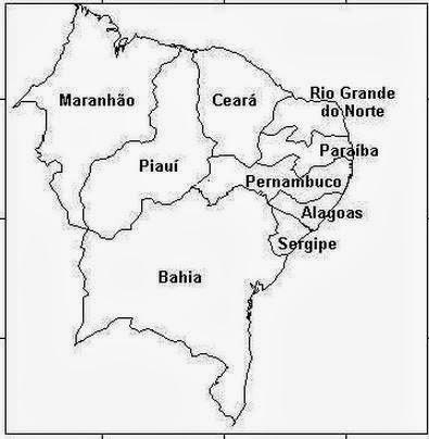 Mapa Do Brasil Com Nome Dos Estados Mapas Do Brasil Para Colorir